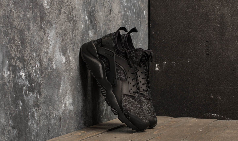 dd73eef2aba99 Nike Air Huarache Run Ultra SE Black  Black-Dark Grey