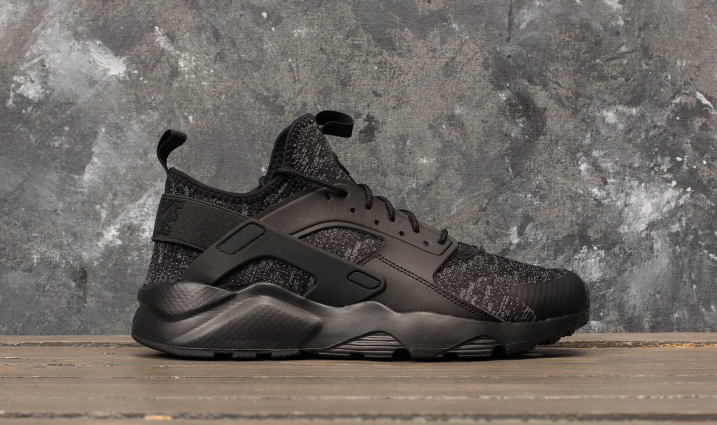 Nike Air Huarache Run Ultra SE Black  Black-Dark Grey at a great price 69aa1f302b7d