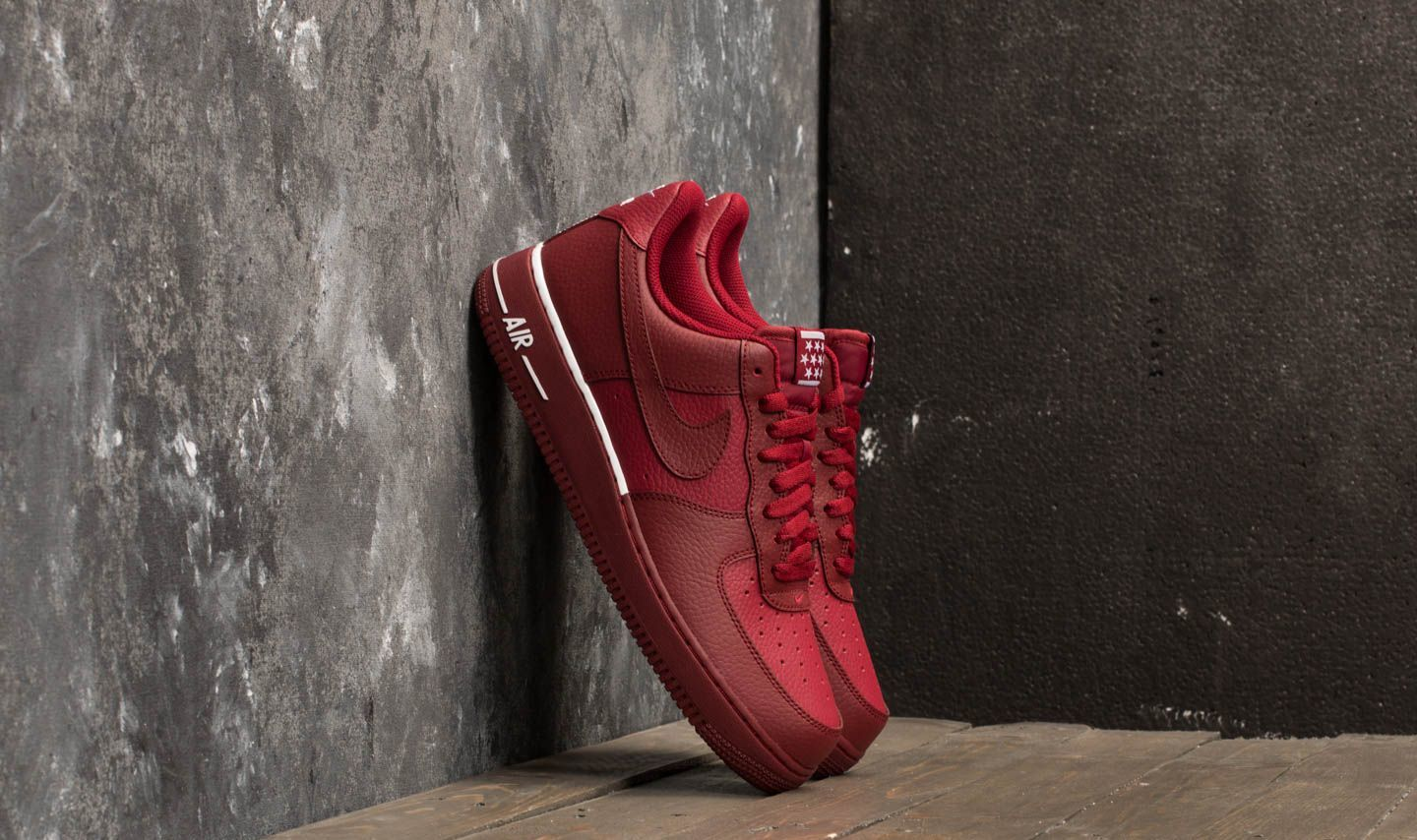 Nike Air Force 1 '07 Team Red/ Team Red-White