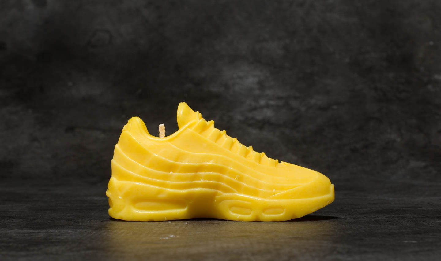 WHAT THE SHAPE Air Max 95 Candle Yellow | Footshop