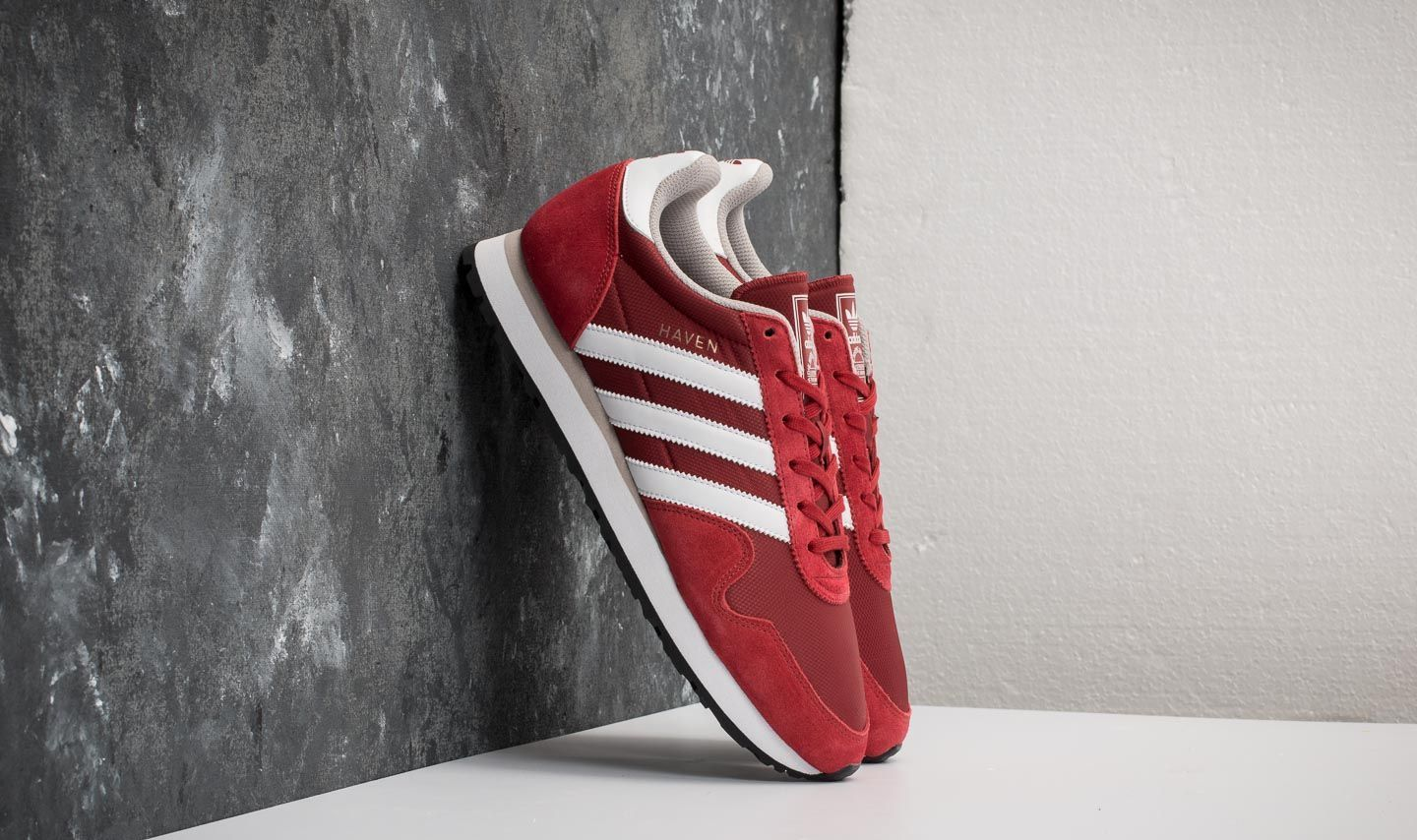 huge discount 663a1 d3025 adidas Haven Mystery Red  Ftw White  Clear Granite