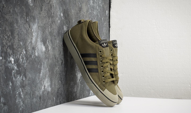 adidas Nizza Olive Cargo/ Core Black/ Tech Beige | Footshop