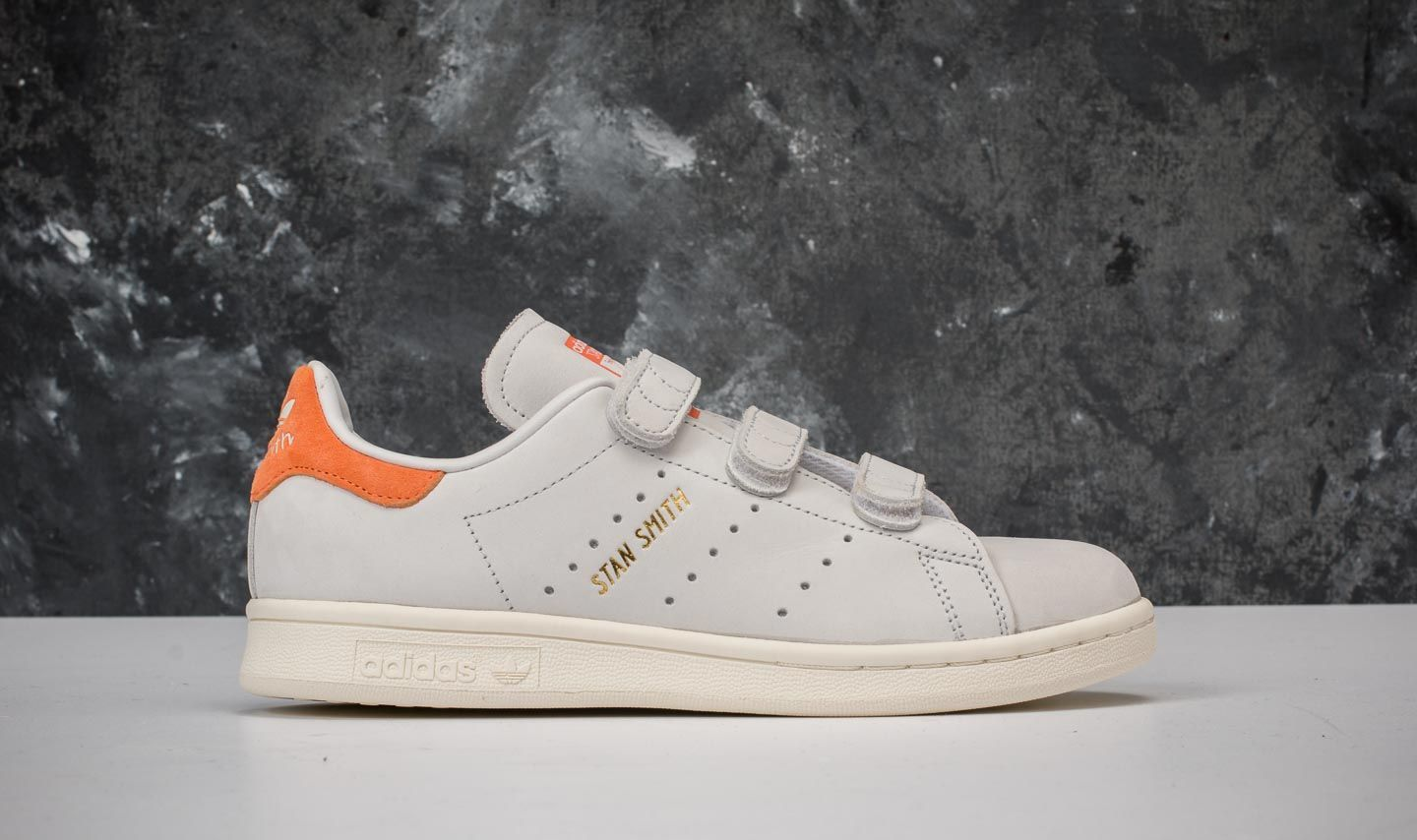 adidas Stan Smith CF WCrystal White Crystal White Trace Orange
