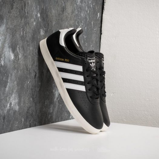 the latest 15d92 6cf2a adidas 350 Core Black Ftw White Off White