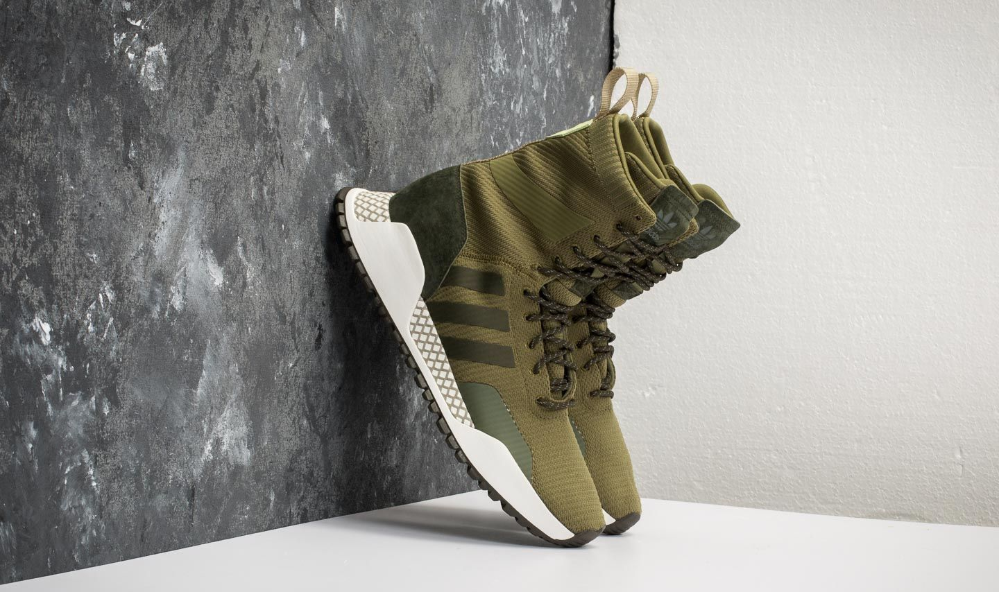 detailed pictures e525d 78e45 adidas F1.3 Primeknit Olive Cargo Night Cargo Umber at a great price