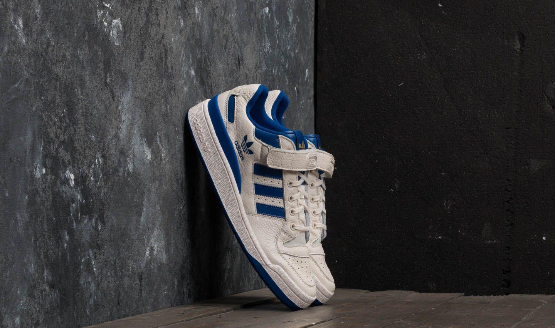 a2c9224856f4 adidas Forum Low Chalk White/ Collegiate Royal/ Gold Metallic   Footshop