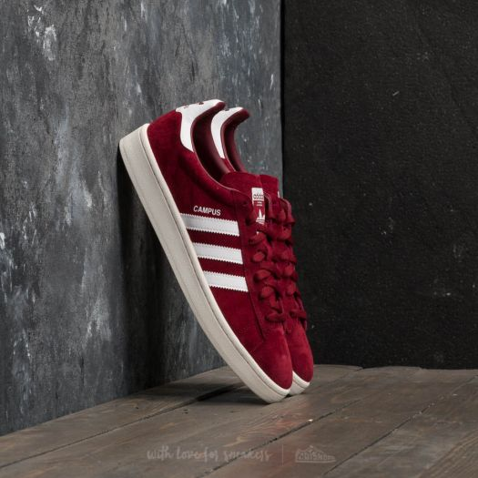 huge discount 8f4bc fe640 adidas Campus Collegiate Burgundy Ftw White Chalk White