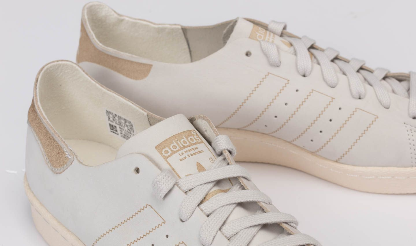 innovative design c1514 fbdeb ... order adidas superstar 80s decon ftw white ftw white brown at a great  price 139 d4f57