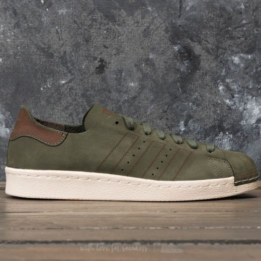 nouveau style 5acb0 b92b7 adidas Superstar 80s Decon Base Green/ Base Green/ Noble Red | Footshop
