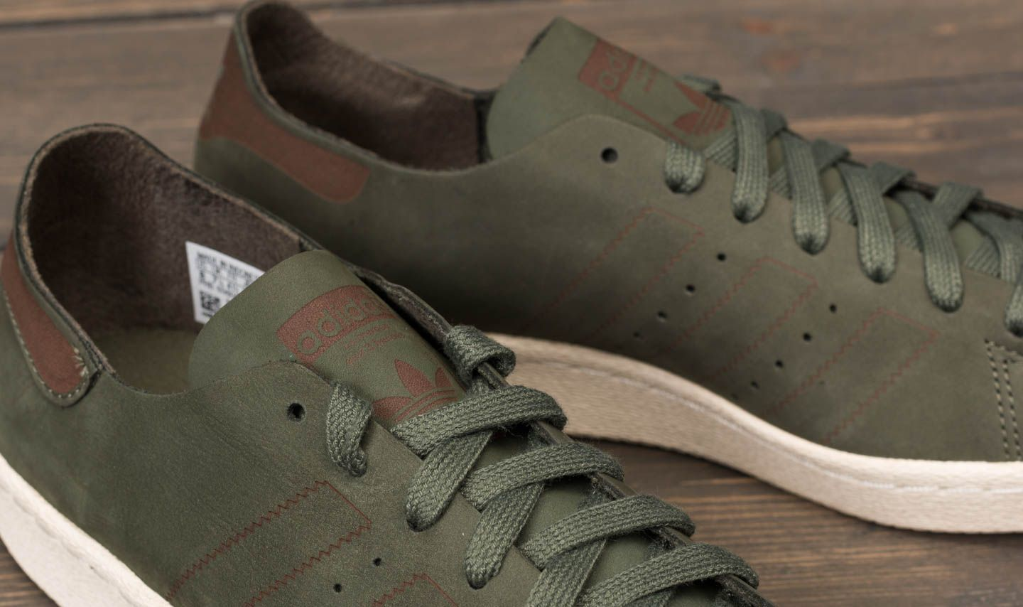 adidas Superstar 80s Decon Base Green  Base Green  Noble Red za skvělou  cenu 3 885008eb0e5