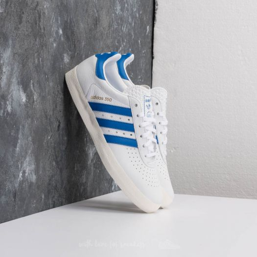 newest 2a162 70780 adidas 350 Ftw White Blue Off White