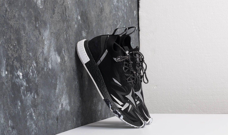 Pánské tenisky a boty adidas Consortium x Juice HK NMD Racer Core Black/ White