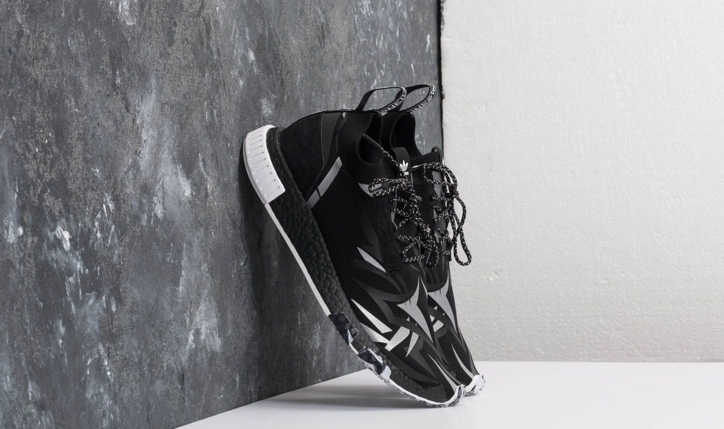 0ee563e247d61 adidas Consortium x Juice HK NMD Racer Core Black  White at a great price  209