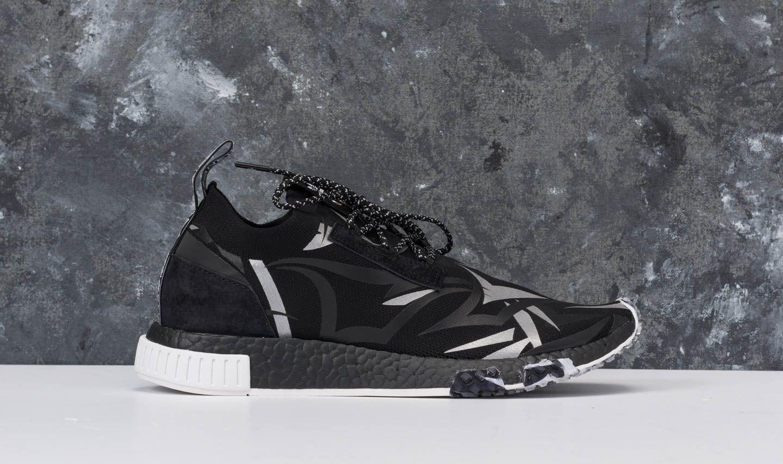 new style 0fed3 71fb2 adidas Consortium x Juice HK NMD Racer Core Black/ White ...