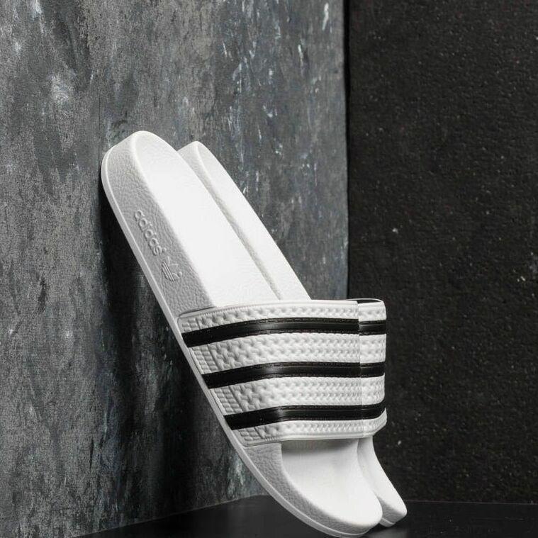 adidas Adilette White/ Core Black/ White EUR 39