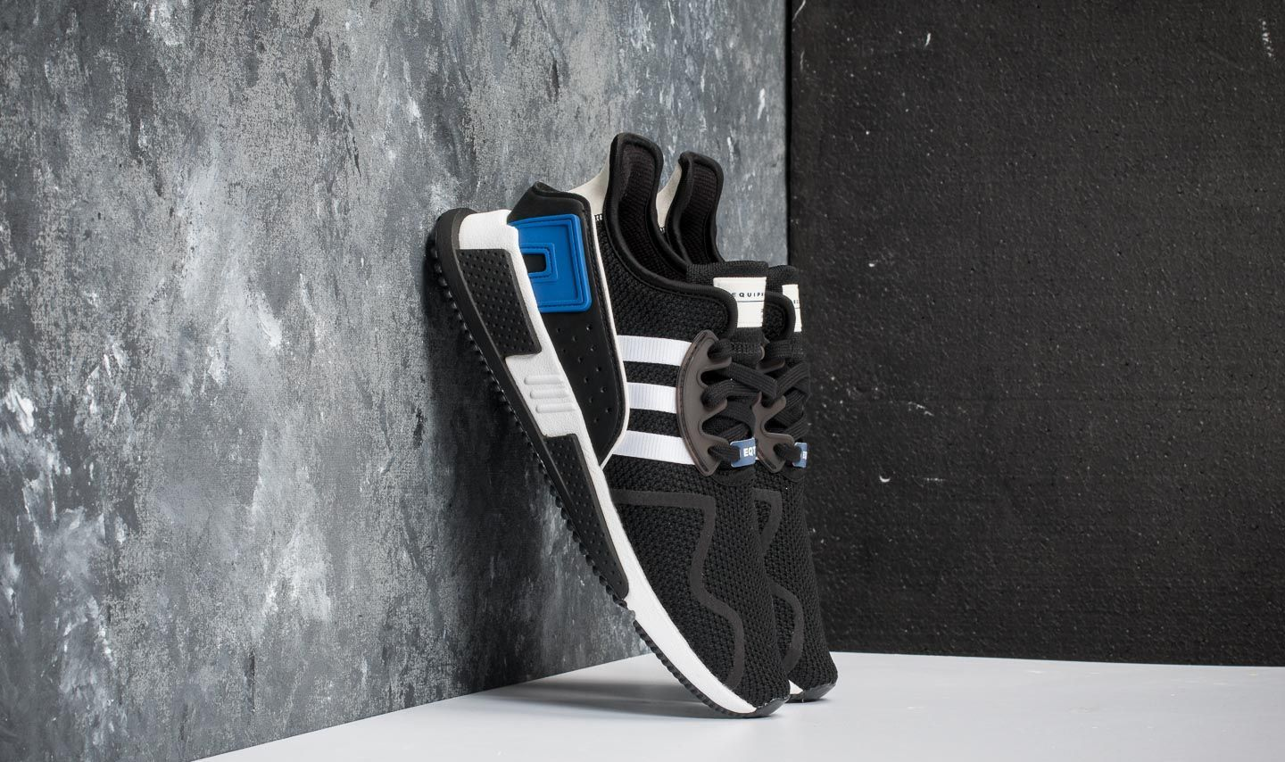premium selection 6219d 15cdc adidas EQT Cushion ADV. Core Black Ftw White Collegiate Royal