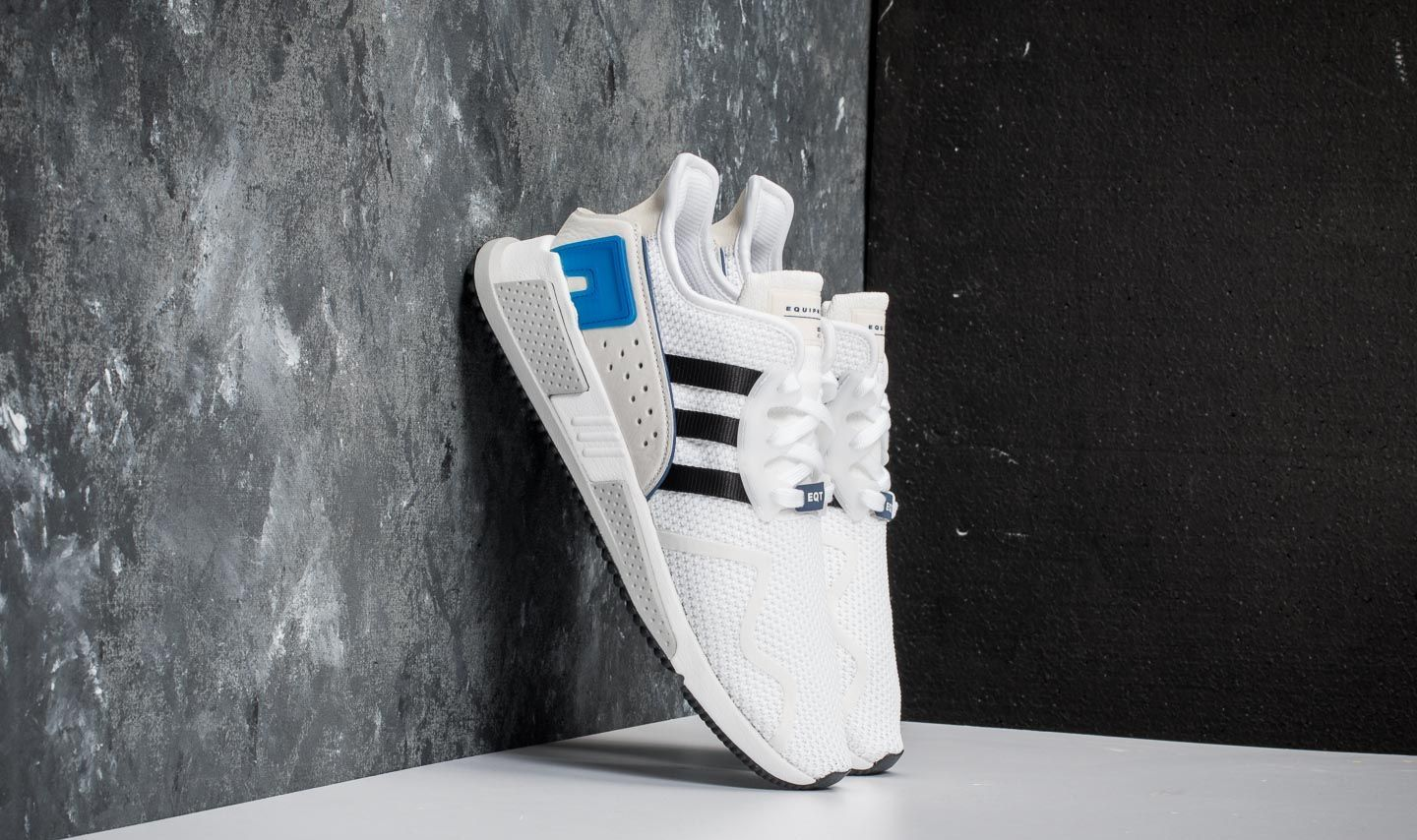 22e654a38b40f adidas EQT Cushion ADV Ftw White  Core Black  Collegiate Royal at a great  price