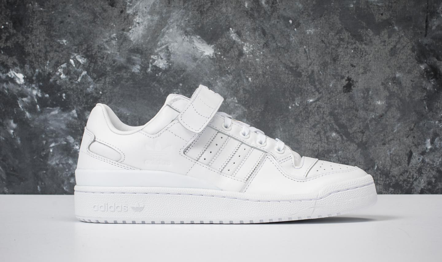 brand new 187cc ab305 adidas Forum Low Refined Ftw White Ftw White Core Black at a great price