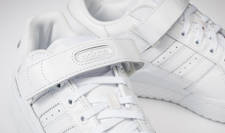 adidas Forum Low Refined Ftw White Ftw White Core Black | Footshop