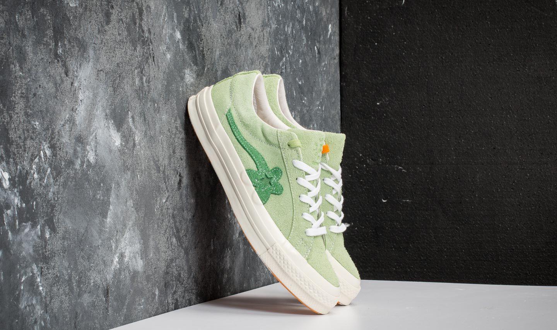 68f023f0c73f28 Converse One Star Ox Golf Le Fleur Jade Lime  Mint Green  Egret ...