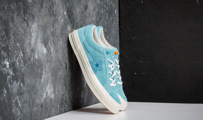 Men S Shoes Converse X Golf Le Fleur One Star Ox Bachelor Button Blue Jay Egret Footshop