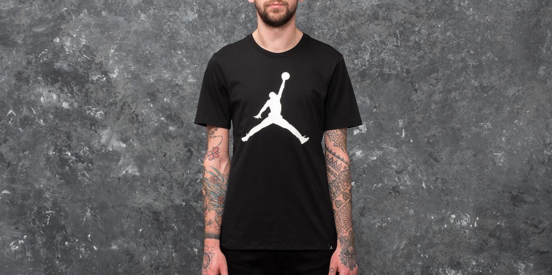 Jordan Sportswear Iconic Jumpman Tee Black  White  9c77f3792e5