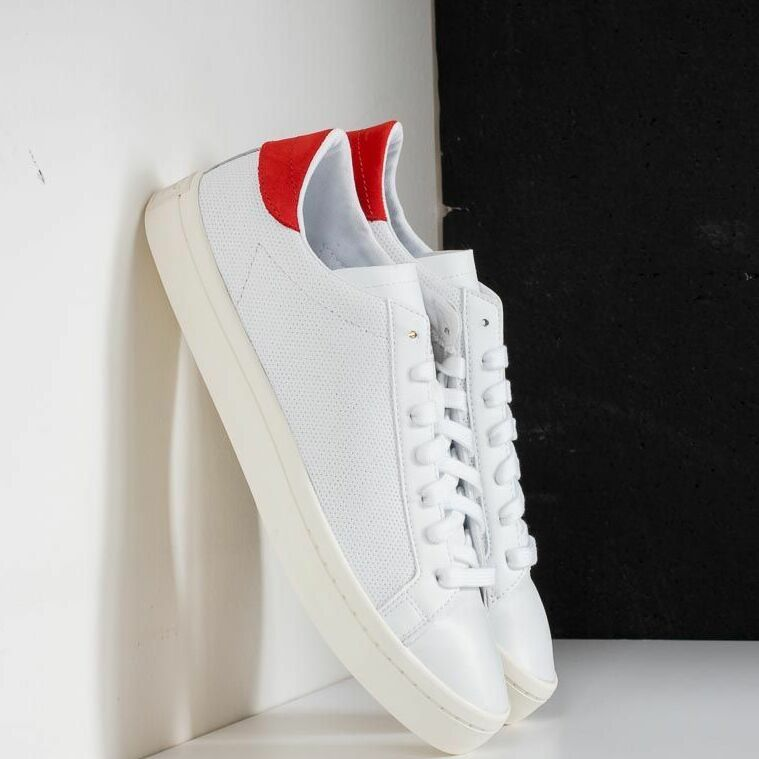 adidas Courtvantage Ftw White/ Ftw White/ Red EUR 46 2/3