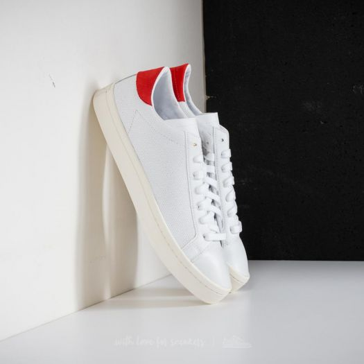 adidas Courtvantage Ftw White Ftw White Red | Footshop