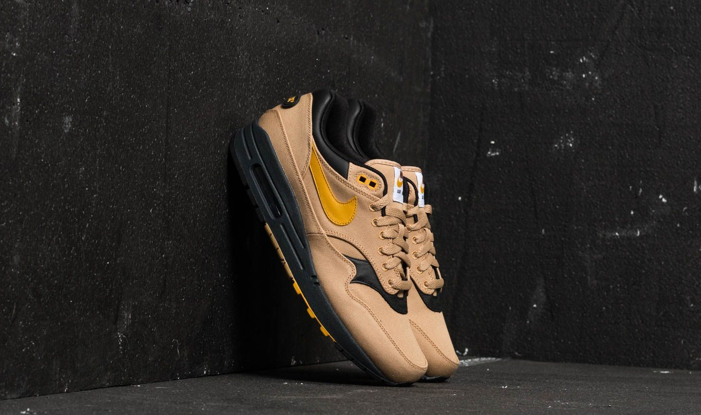 best sneakers 750ce e7905 Nike Air Max 1 Premium. Elemental Gold  Mineral Yellow