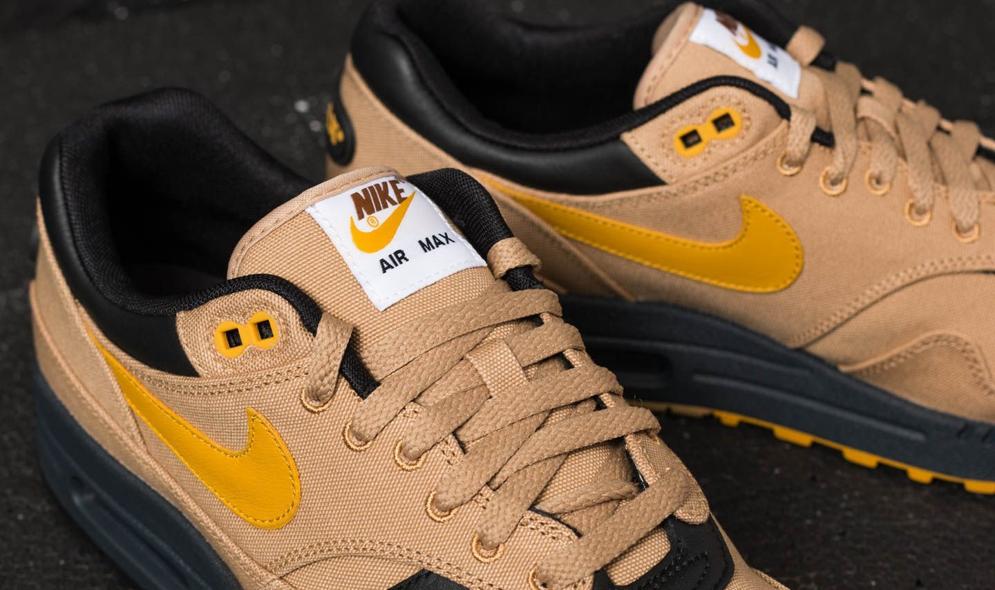 Nike Air Max 1 Premium (Elemental GoldMineral Yellow Black)