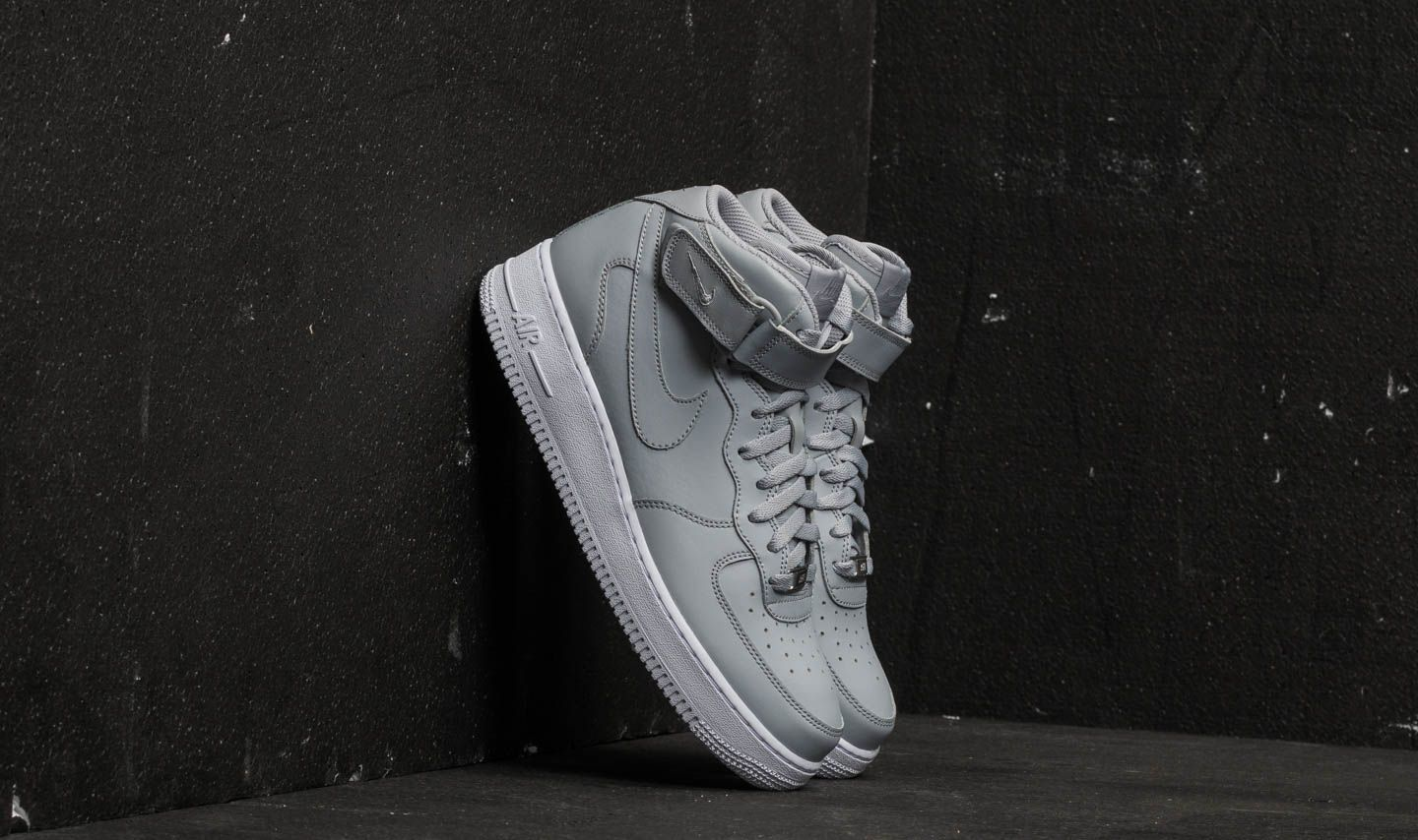 Force 1 '07 Wolf Grey Nike Air WhiteFootshop Mid A3L4Rj5