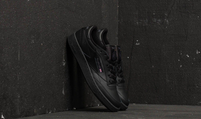 Reebok Club C 85 Black  Charcoal  edb3e49d0