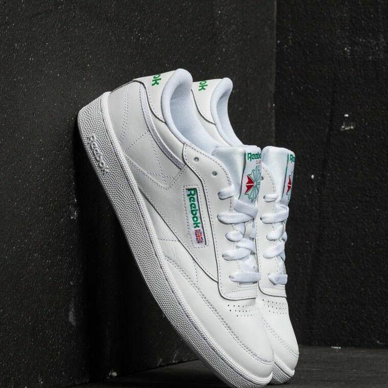Reebok Club C 85 White/ Green EUR 45.5