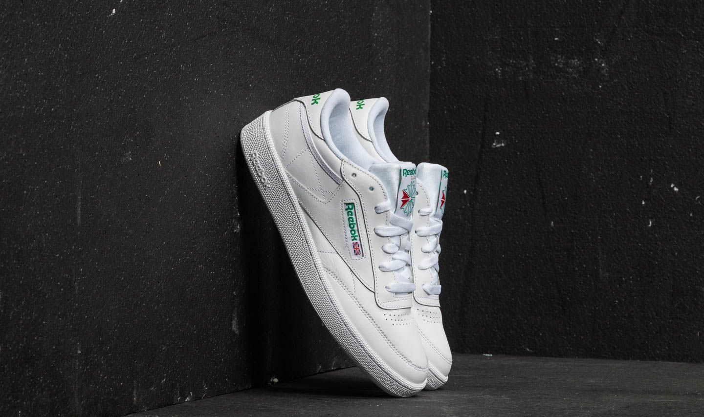 Männer Reebok Club C 85 White/ Green