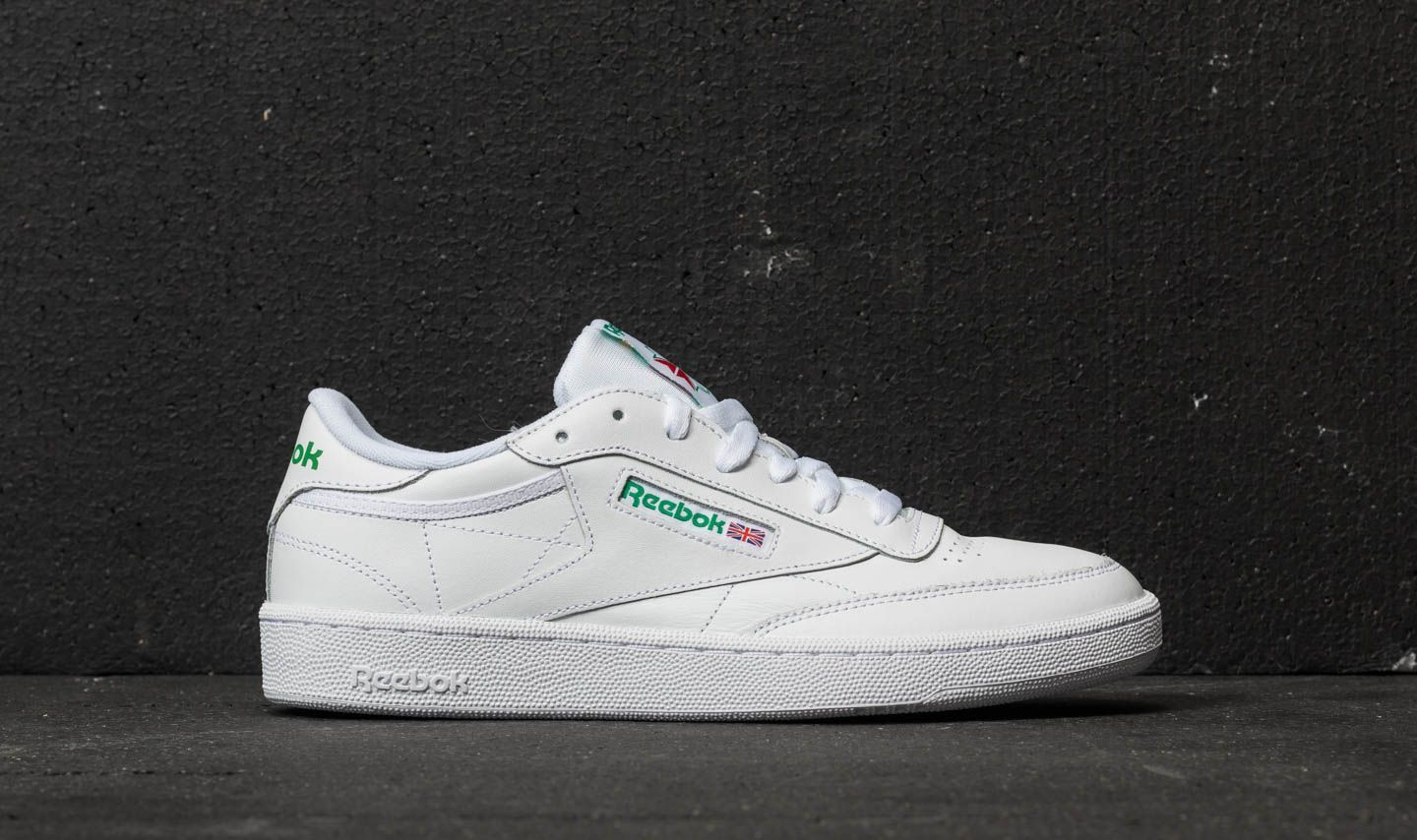 9574b7c28d5 Reebok Club C 85 White  Green at a great price 79 € buy at Footshop