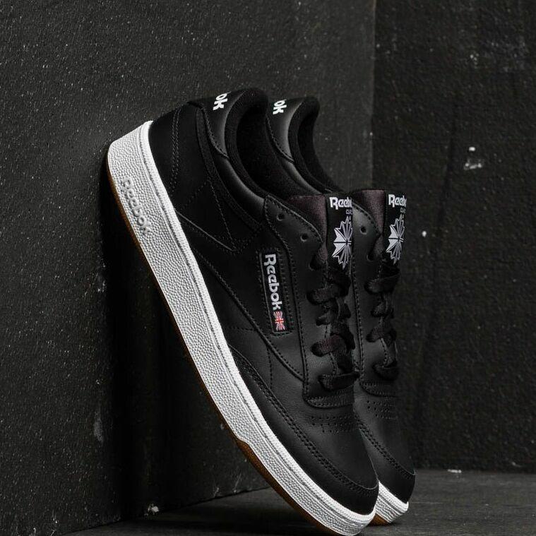 Reebok Club C 85 Black/ White/ Gum EUR 44.5
