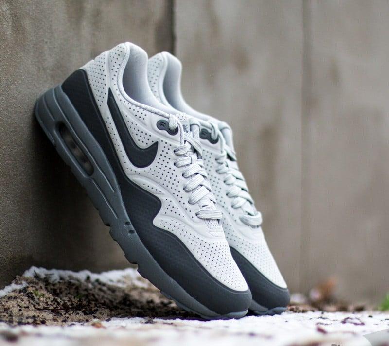 the best attitude 9d545 1b127 Nike Air Max 1 Ultra Moire Neutral Grey Dark Grey