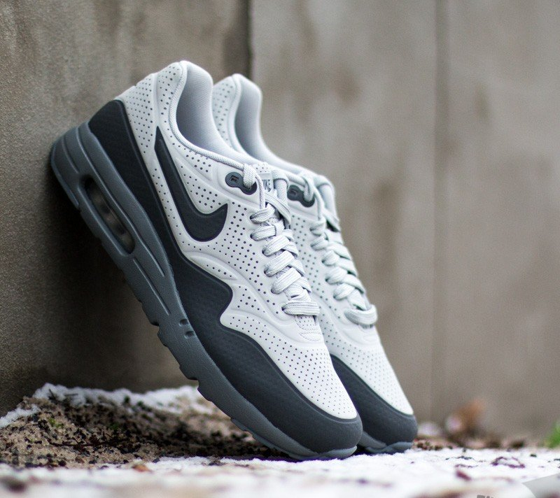 the best attitude 9bb54 cfe16 Nike Air Max 1 Ultra Moire Neutral Grey Dark Grey