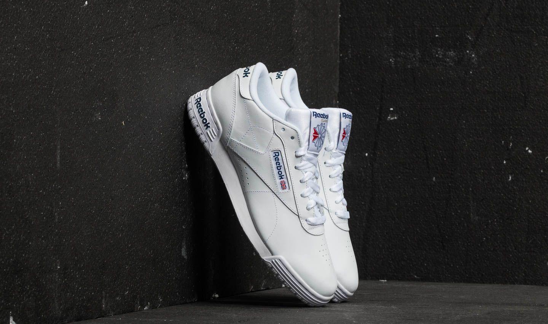 95eb525e722 Reebok Ex-O-Fit Lo Clean Logo Int Int-White  Royal Blue