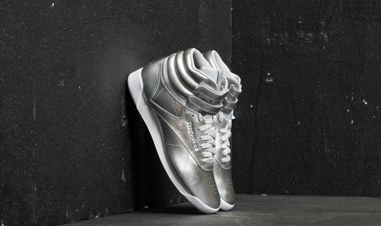 Reebok Freestyle Hi Metallic Silver Metallic/ Steel/ White za skvělou cenu 1 490 Kč koupíte na Footshop.cz