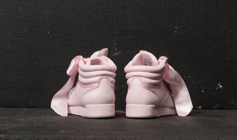e6156ea0d9745b Reebok Freestyle Hi Satin Bow Porcelain Pink  Skull Grey at a great price  110 €