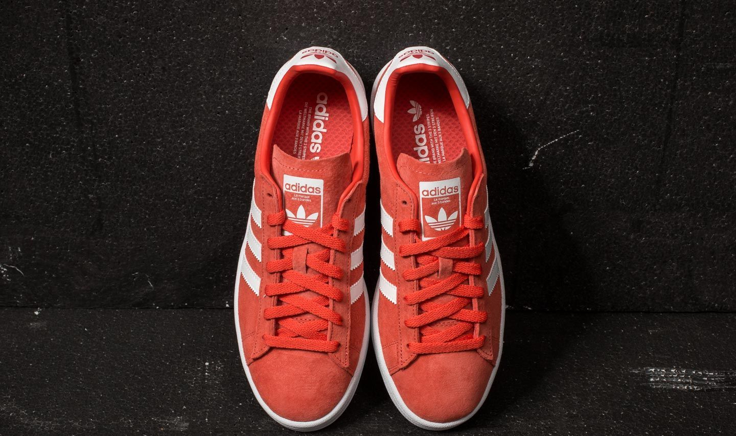 watch 6b987 f3074 adidas Campus Trace Scarlet Ftw White Ftw White at a great price £48