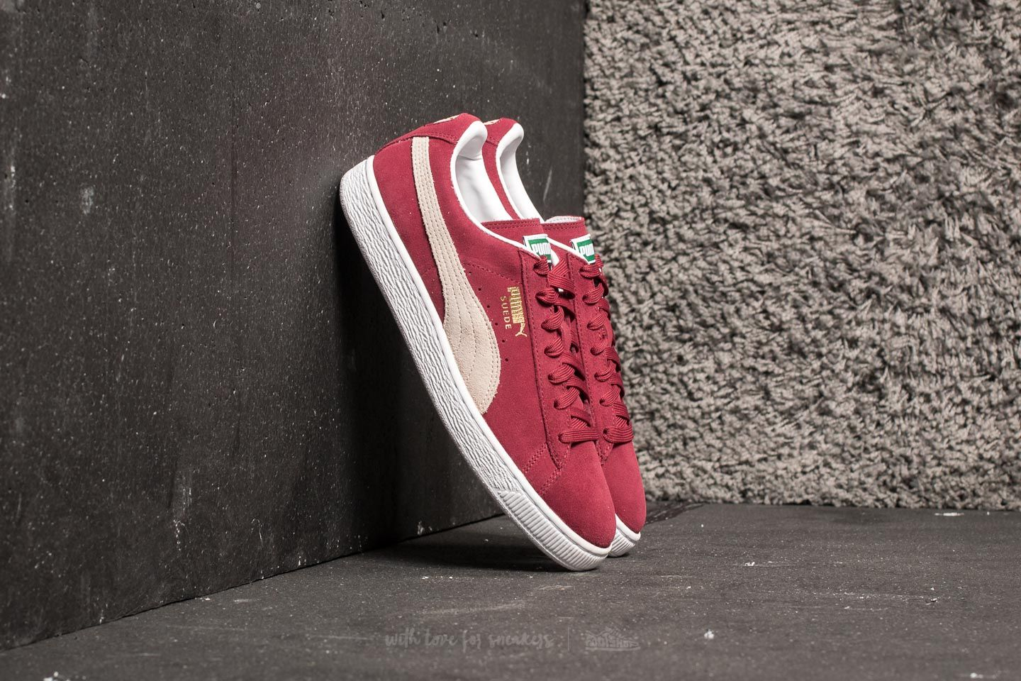 Puma Suede Classic+ Cabernet  White at a great price 40 € buy at Footshop c702bb033