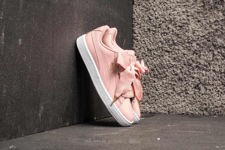 Women's shoes Puma Basket Heart Patent