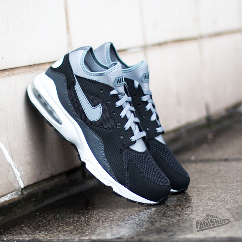 aab27039acc9 Nike Air Max 93 Black Cool Grey Anthracite