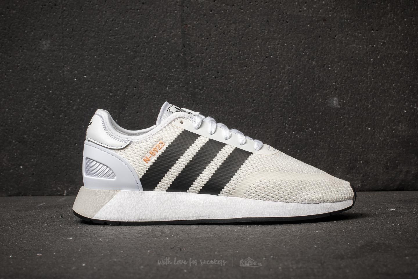 outlet store b9b54 d3901 adidas N-5923 Ftw White  Core Black  Grey One at a great price