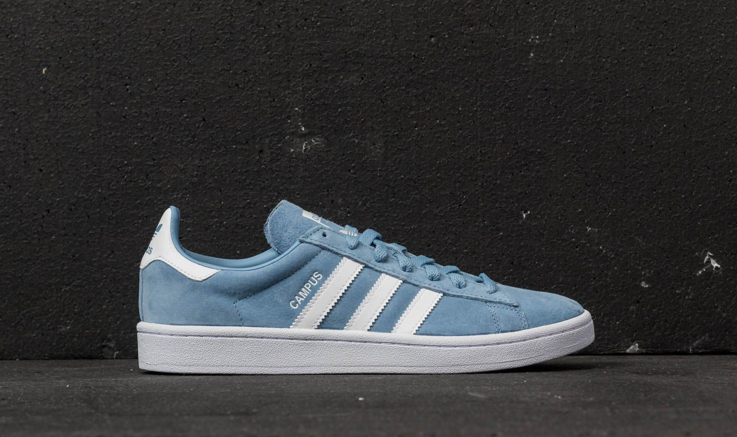 841a14a4b42983 adidas Campus Ash Blue  Ftw White  Ftw White at a great price £45