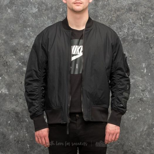 Nike Sportswear Air Force 1 Reversible Jacket Black Light Bone | Footshop
