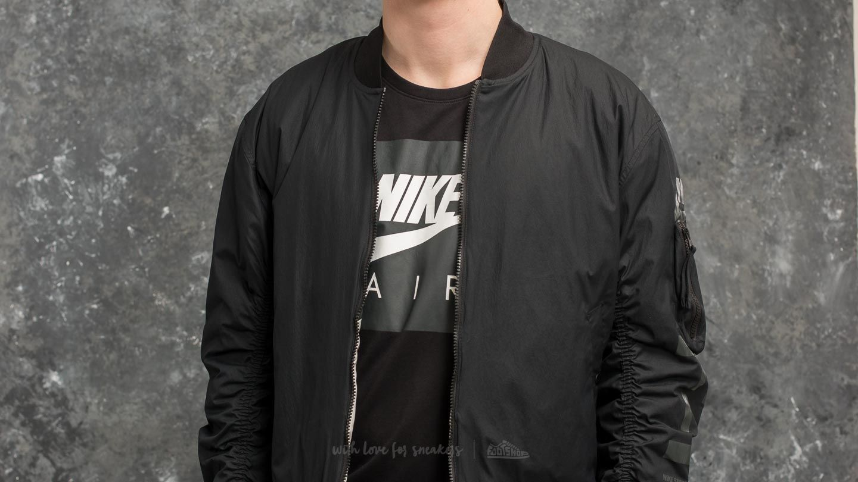 Nike Sportswear Air Force 1 Reversible Jacket Black Light Bone | Footshop