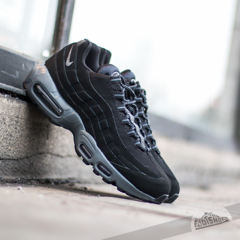 b5cfb273c6394 Nike Air Max 95 Black Dark Grey-Black